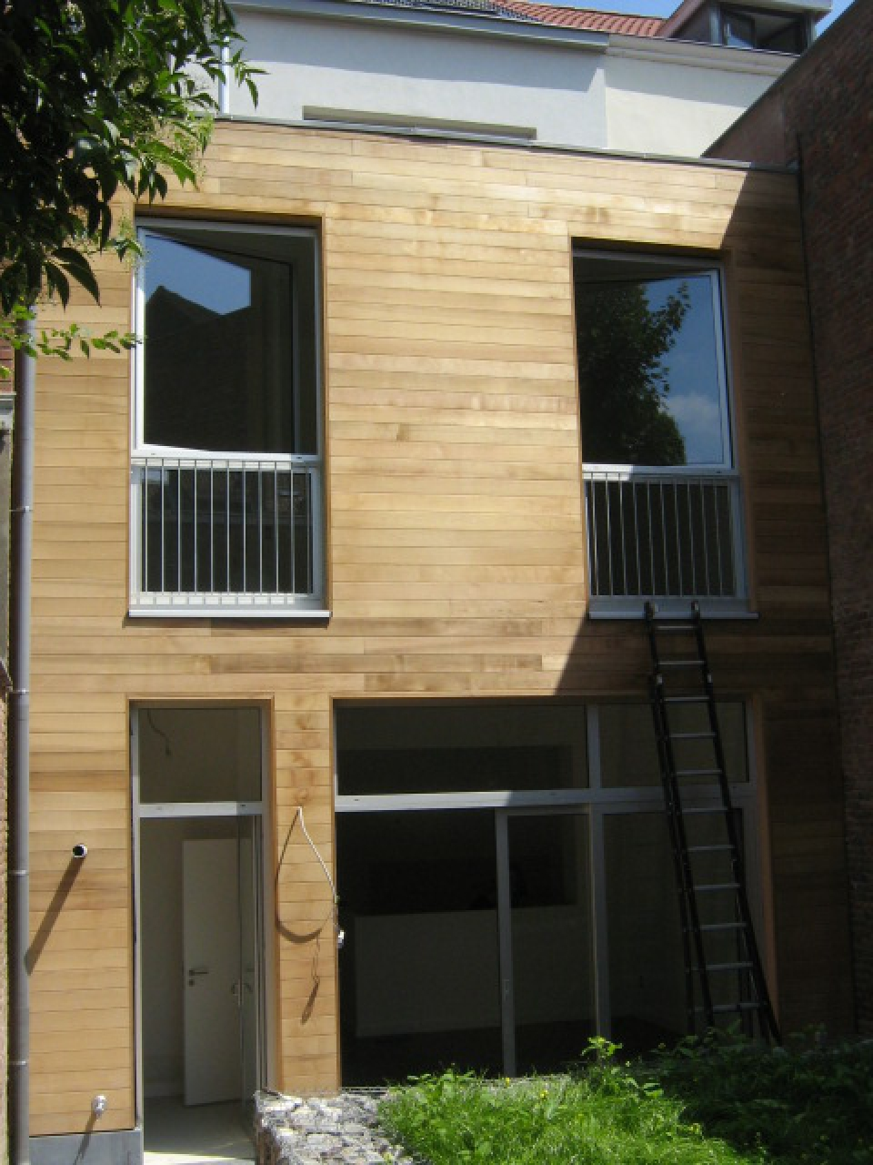 Rénovation d'un immeuble de logements