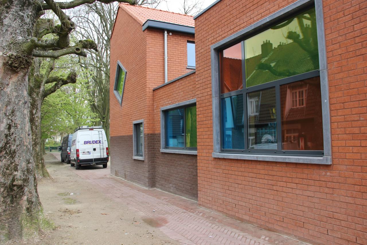 Rénovation et extension d'une crèche